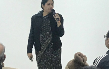 Dr Mandira Roy, General Manager, Technology Transfer and Commercialization delivered a talk on
