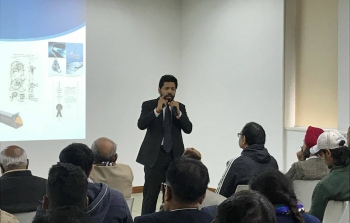 Mr Rahul Bagga, Director-Patents delivered a talk on